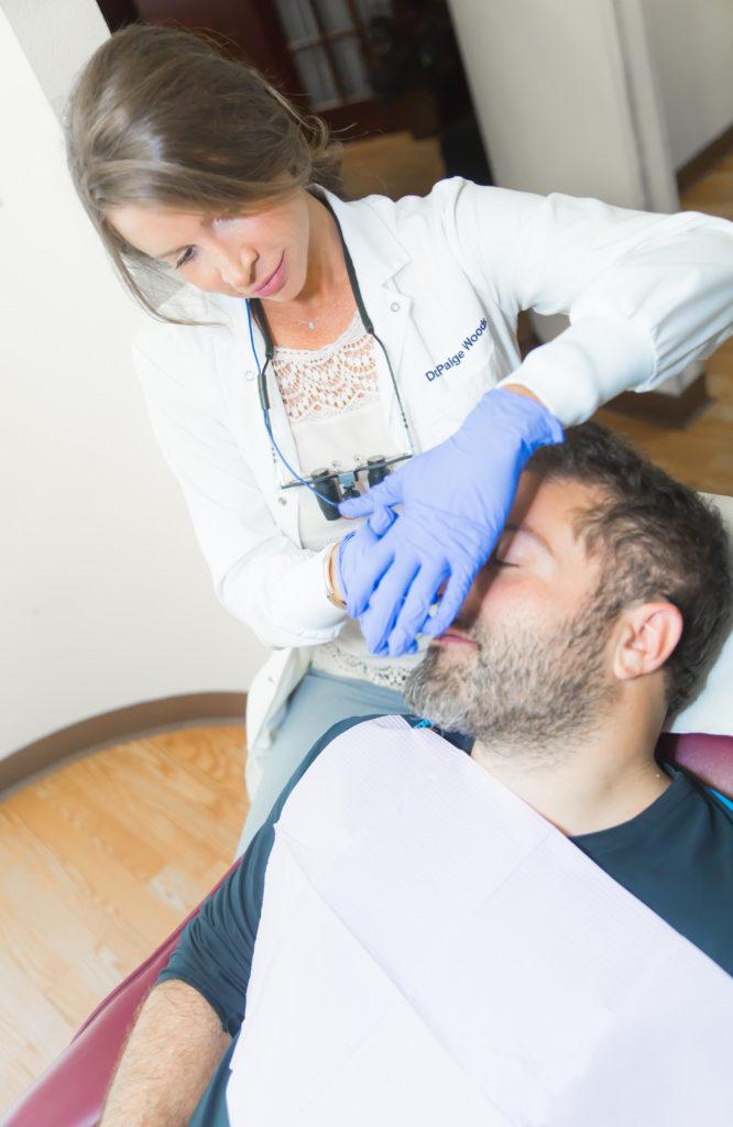 delta dentist using aromatherapy