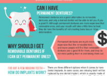 permanent denture infographic