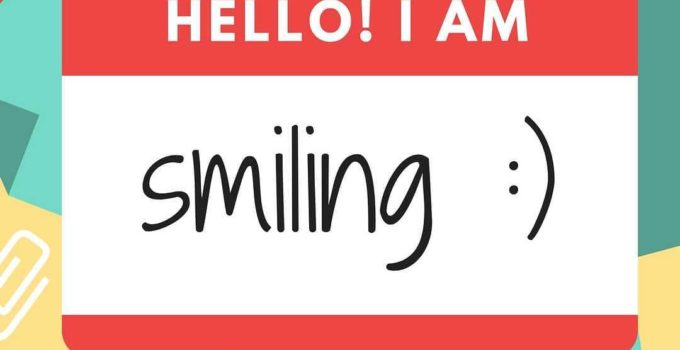 hello smiling