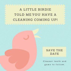 birdie clean teeth